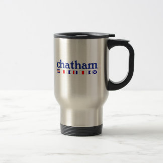 Chatham, MA - Maritme Spelling Travel Mug