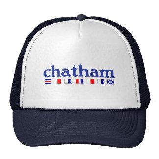 Chatham, MA - Maritme Spelling Trucker Hat