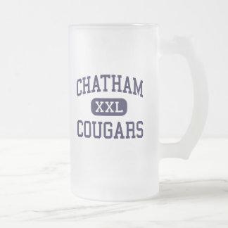 Chatham - pumas - alto - Chatham New Jersey Taza Cristal Mate