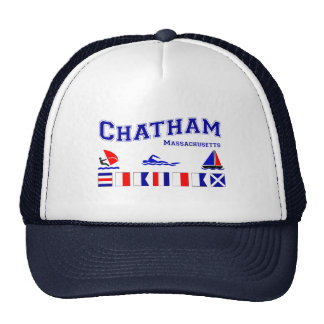 Chatham signal flag trucker hat