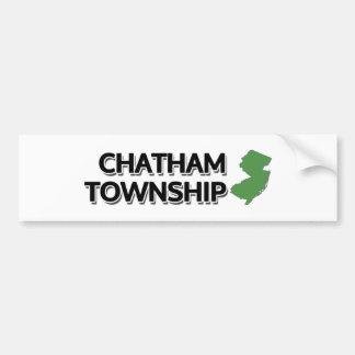 Chatham Township, New Jersey Bumper Sticker