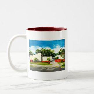 Chatlos Bldg., FloridaSouthernCollege Two-Tone Coffee Mug