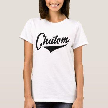 USA Themed Chatom Alabama T-Shirt