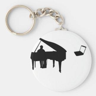 CHATROULETTE PIANO IMPROV KEYCHAIN
