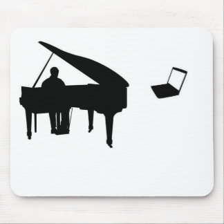 CHATROULETTE PIANO IMPROV MOUSE PAD