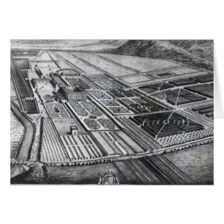 Chatsworth House, engraved by Johannes Kip Greeting Card