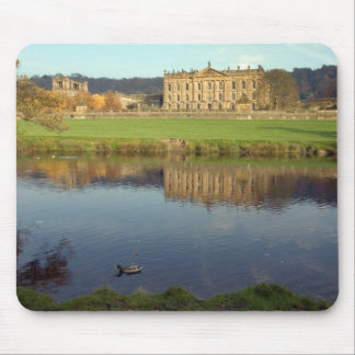 Chatsworth House in Derbyshire, England Mouse Pad