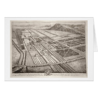 Chatsworth House, seat of William Cavendish (1640- Greeting Card