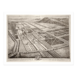 Chatsworth House, seat of William Cavendish (1640- Postcard