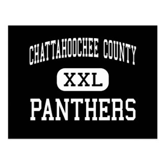 Chattahoochee County - Panthers - High - Cusseta Postcards