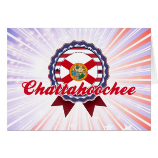 Chattahoochee, FL Tarjeta De Felicitación