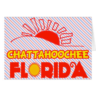 Chattahoochee, Florida Greeting Card