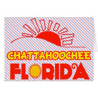 Chattahoochee, la Florida Tarjeta De Felicitación