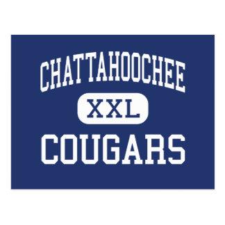 Chattahoochee - pumas - alto - Alpharetta Tarjetas Postales