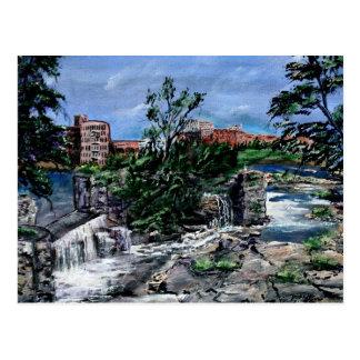 Chattahoochee River Columbus GA  & Phenix City Postcards