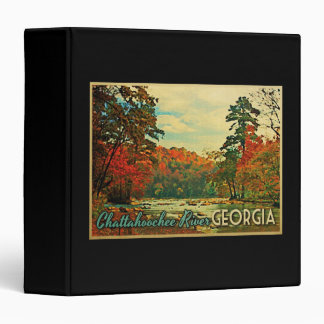 Chattahoochee River Georgia 3 Ring Binder