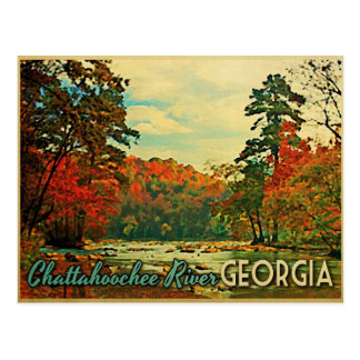 Chattahoochee River Georgia Postcards