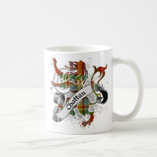 Chattan Tartan Lion Coffee Mug