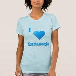 Chattanooga -- Azul de cielo Camiseta