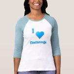 Chattanooga -- Azul de cielo Camisetas