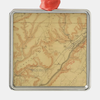 Chattanooga Campaign Metal Ornament