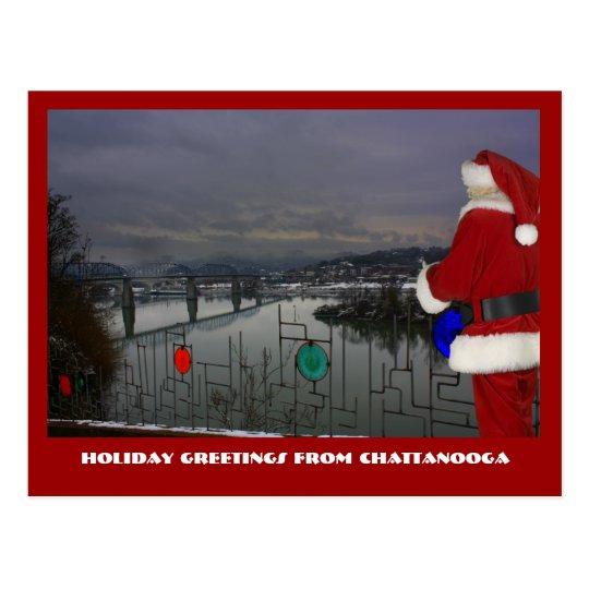 Chattanooga Santa Postcard