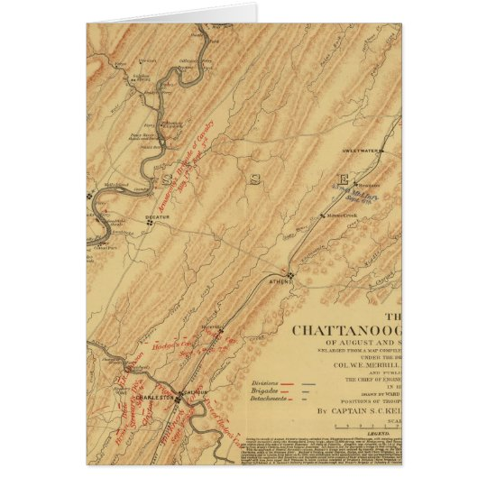 Chattanooga, Tennessee Card