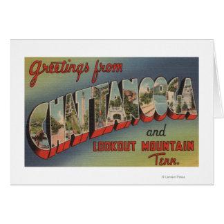 Chattanooga, Tennessee - escenas grandes de la let Tarjetas