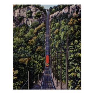 Chattanooga Tennessee Lookout Mountain Incline Posters