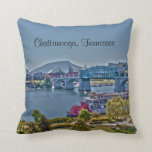 Chattanooga, Tennessee Photo Pillow Throw Pillow