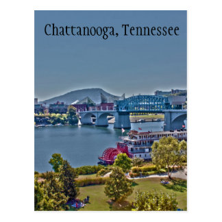 Chattanooga, Tennessee Photo Postcard