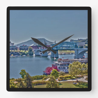 Chattanooga, Tennessee Photo Wall Clock