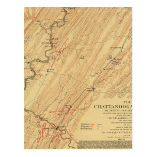 Chattanooga, Tennessee Postcard