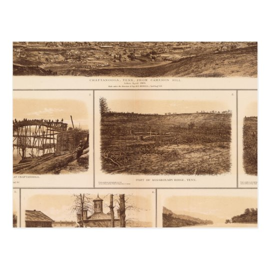 Chattanooga Tennessee River Postcard