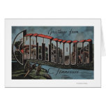 Chattanooga, Tennessee (River Scene) Greeting Card