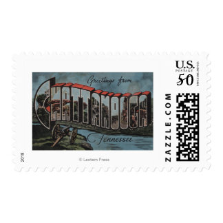 Chattanooga, Tennessee (River Scene) Postage
