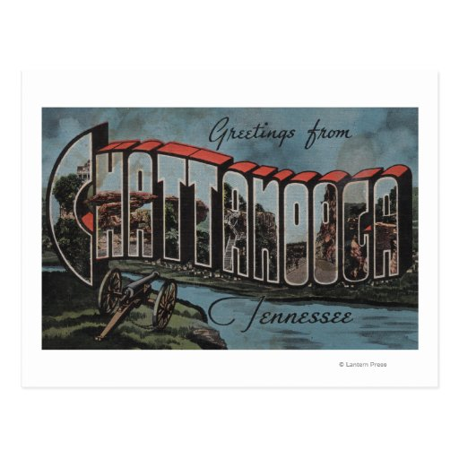Chattanooga, Tennessee (River Scene) Post Card