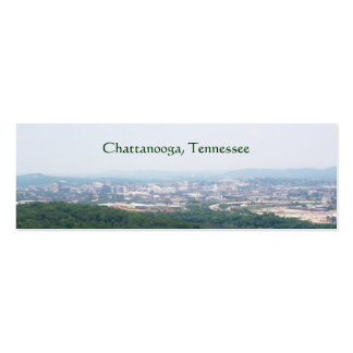Chattanooga, TN bookmark Double-Sided Mini Business Cards (Pack Of 20)