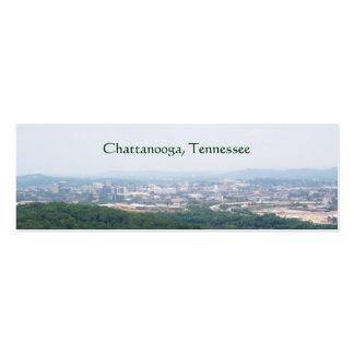 Chattanooga, TN bookmark Mini Business Card