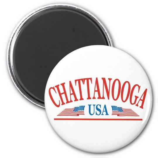Chattanooga USA Magnet