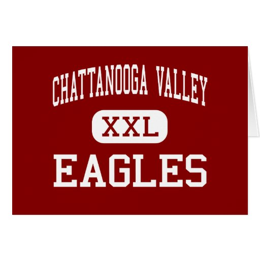 Chattanooga Valley - Eagles - Middle - Flintstone Greeting Card