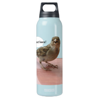 Chattering Sparrow Insulated Water Bottle