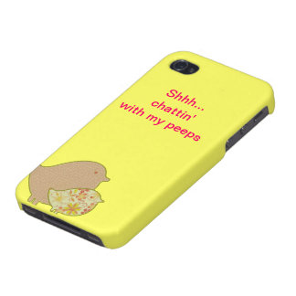 Chattin with my peeps iPhone 4/4S case
