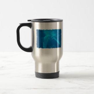 Chatting Dolphin Pair Travel Mug