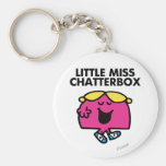 Chatting With Little Miss Chatterbox Keychain