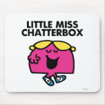 Chatting With Little Miss Chatterbox Mouse Pad