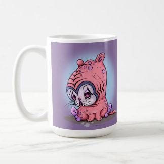 CHATTOU CUTE LITTLE SAD CAT CARTOON Classic Mug