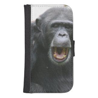 Chatty Chimp Galaxy S4 Wallets