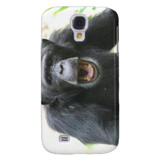 Chatty Chimpanzee iPhone 3G Case Samsung Galaxy S4 Covers