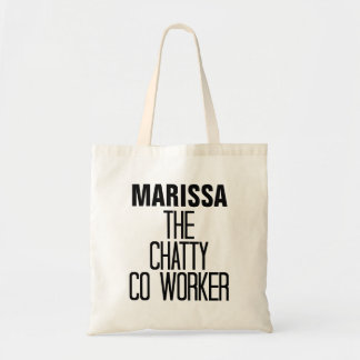 Chatty CoWorker Budget Tote Bag